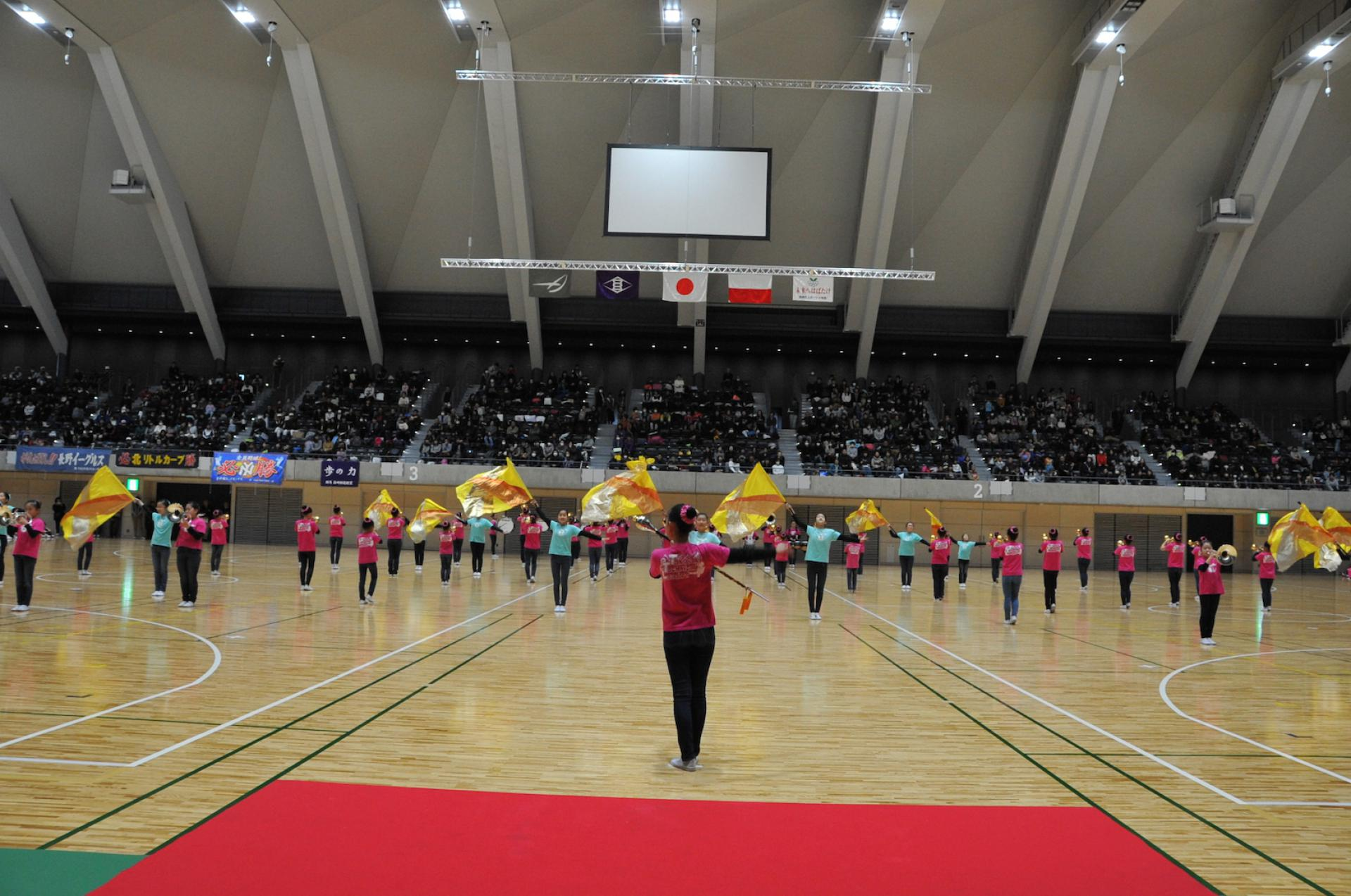Takasaki Arena Opening Ceremony<br />Performed by<br />The Takasaki Technical Leaders Marching Band 1