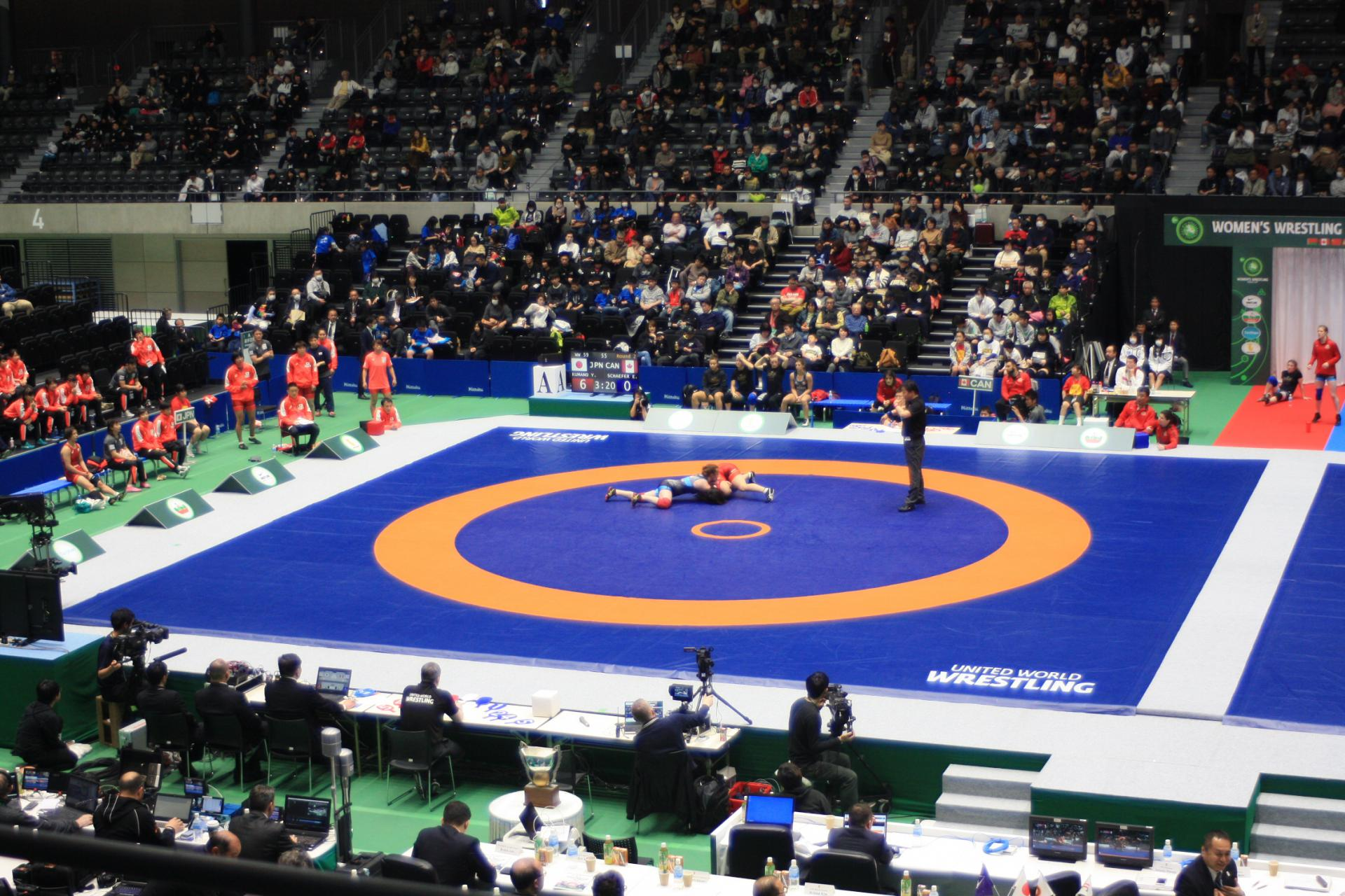 United World Wrestling Women&rsquo;s World Cup<br />17 March 2018 - 18 March 2018